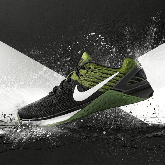 6c364ee88569b ... Nike Metcon DSX Flyknit Womens 7.5 Black Olive ...
